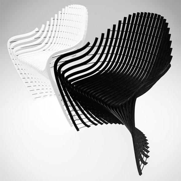 Xanne Armchair - 3DOcean Item for Sale