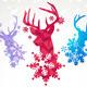 Vector Reindeers