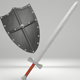 Medieval Sword & Shield