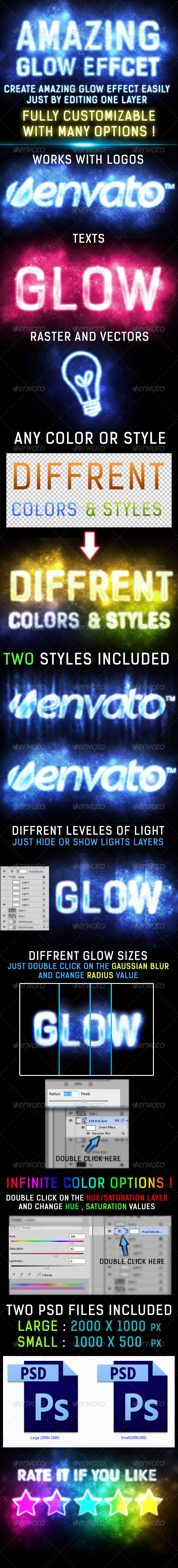 GraphicRiver Amazing Glow Light Effect 6346707