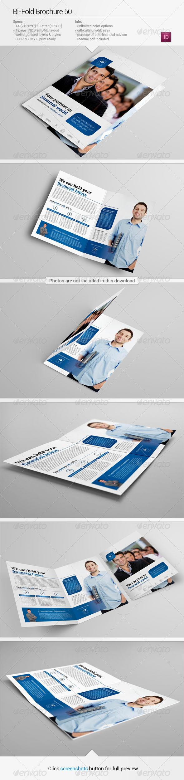 GraphicRiver Bi-Fold Brochure 50 6346716
