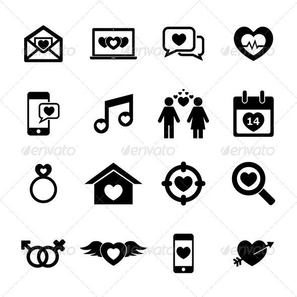 GraphicRiver Love Icon 6346730