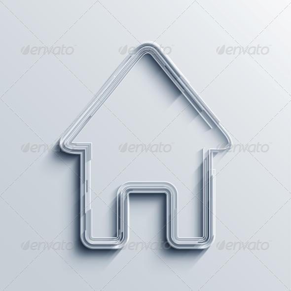 GraphicRiver Vector Real Estate Icon Background 6347050