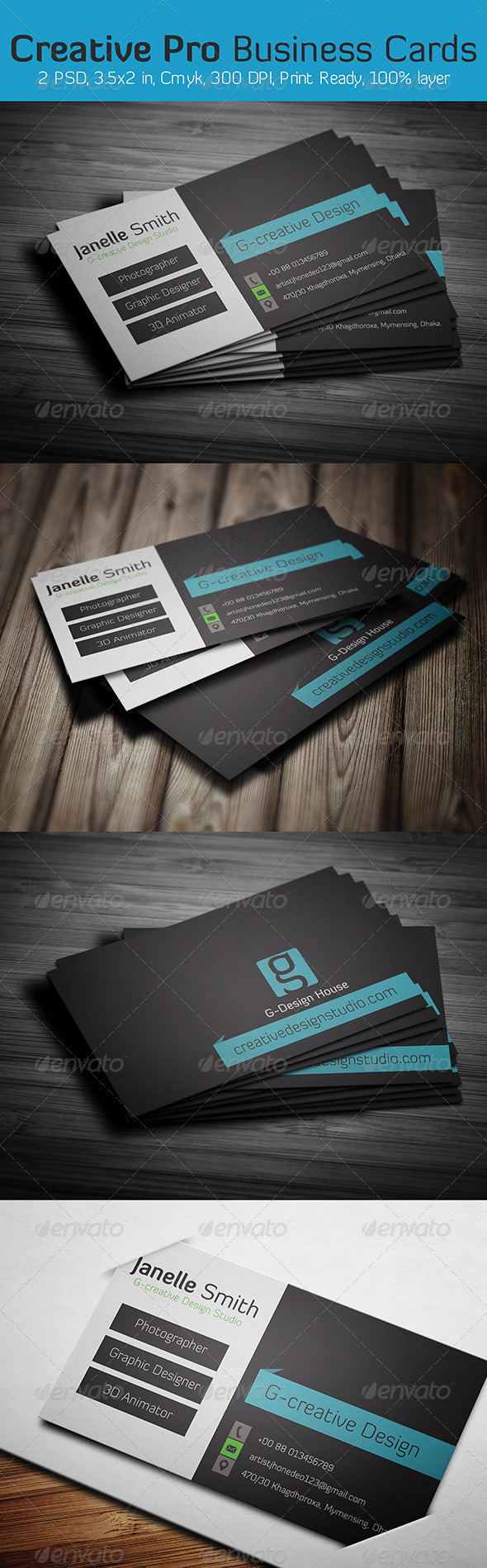 GraphicRiver Creative Business Card 6347448