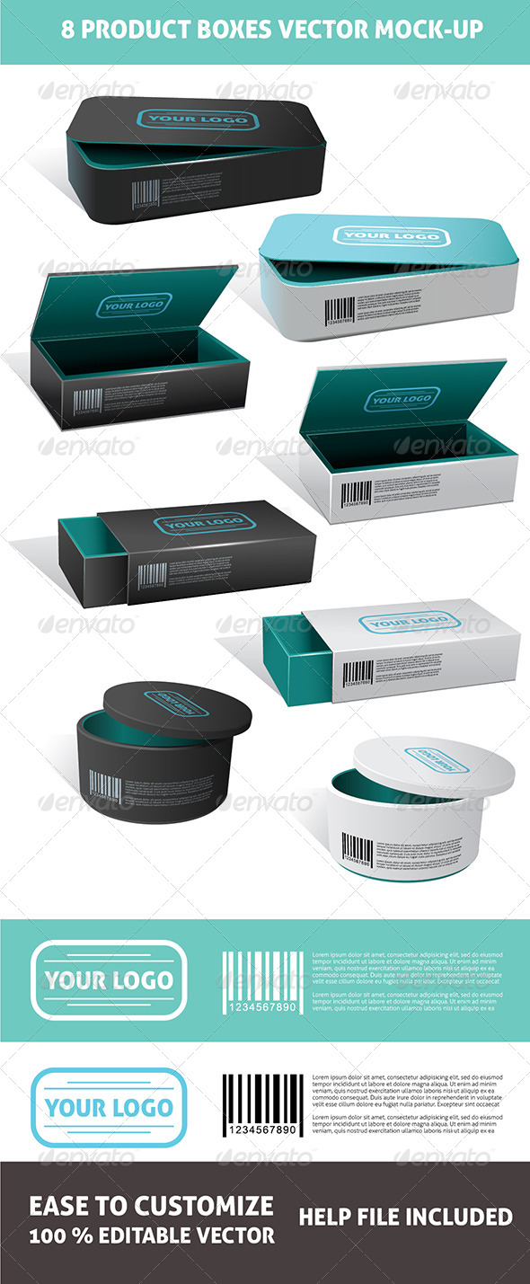 GraphicRiver Packages Mockup 6347865