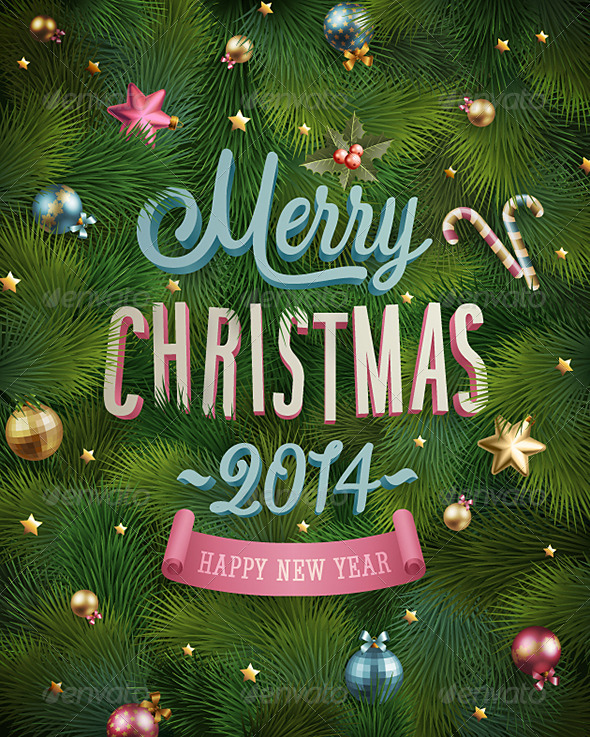 GraphicRiver Christmas Poster 6348051