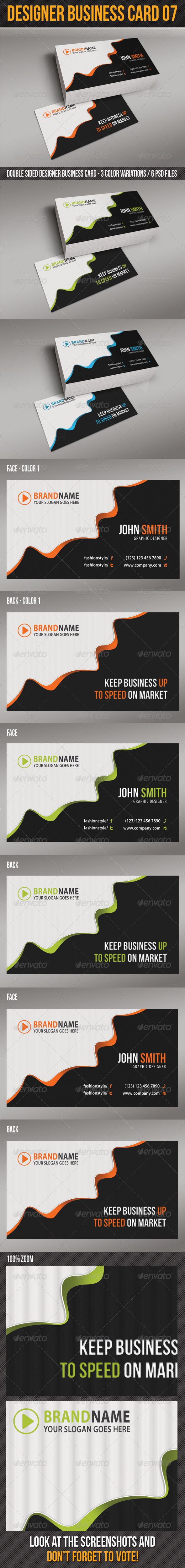 Designer Business Card 07