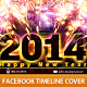 Happy New Year Timeline Cover  - GraphicRiver Item for Sale
