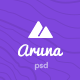 Aruna - Content Sharing, Gag, Meme PSD - ThemeForest Item for Sale