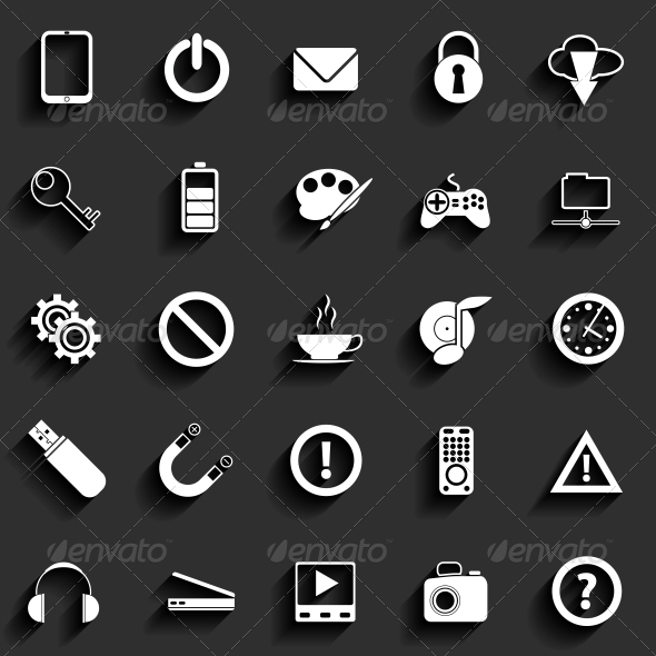 GraphicRiver Universal Flat Icons 6349492