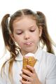 Child with ice cream - PhotoDune Item for Sale