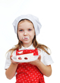 Girl eating cake - PhotoDune Item for Sale