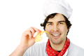 happy chef with cheese - PhotoDune Item for Sale