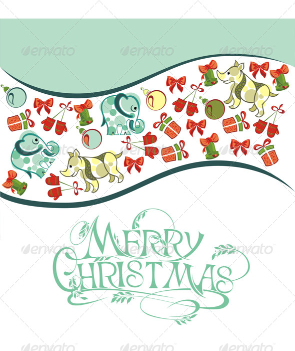 GraphicRiver Christmas Card 6350039