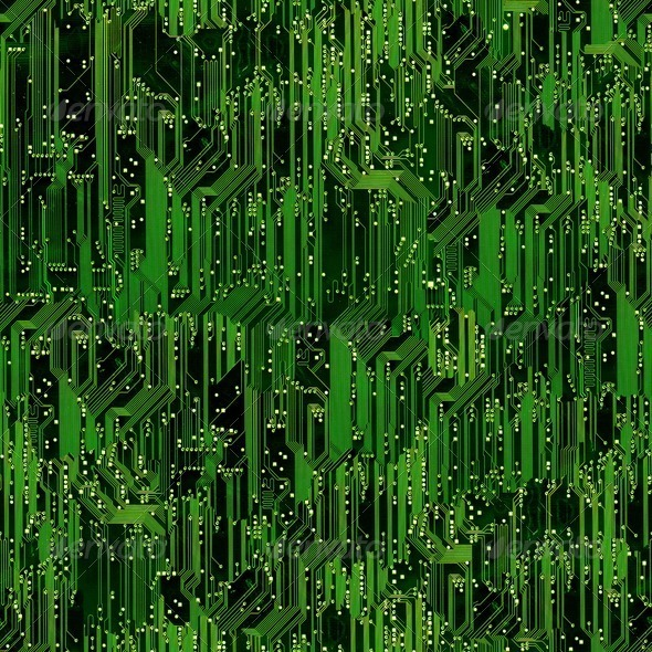 Stock Photo - PhotoDune Circuit board seamless background 678986