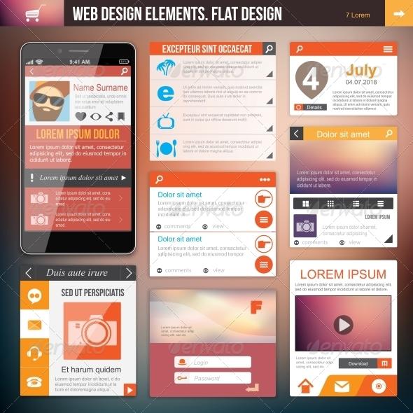 GraphicRiver Web Design Elements 6350553
