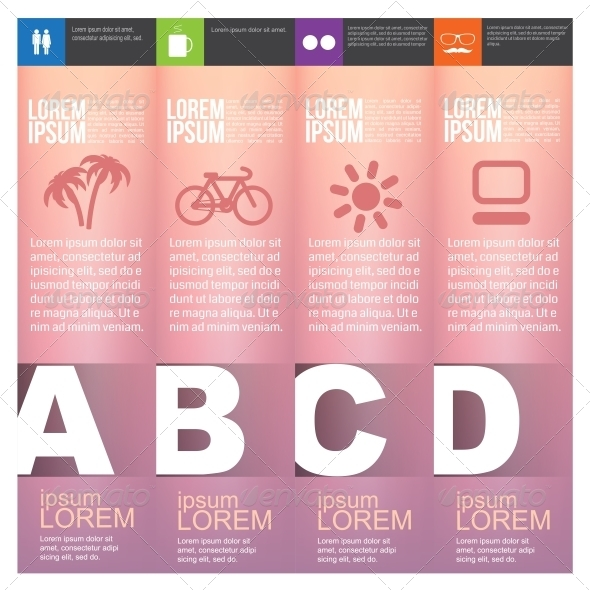 GraphicRiver Numbered Banners 6350554