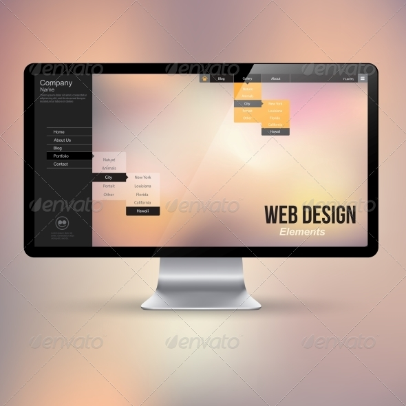 GraphicRiver Computer Display 6350596