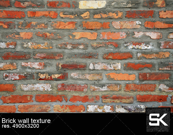 GraphicRiver Texture Brick Wall 6350767
