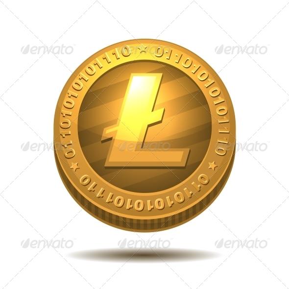 GraphicRiver Litecoin 6351102