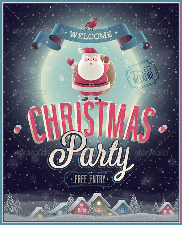 GraphicRiver Christmas Poster 6351267