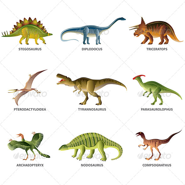 GraphicRiver Dinosaurs 6351290