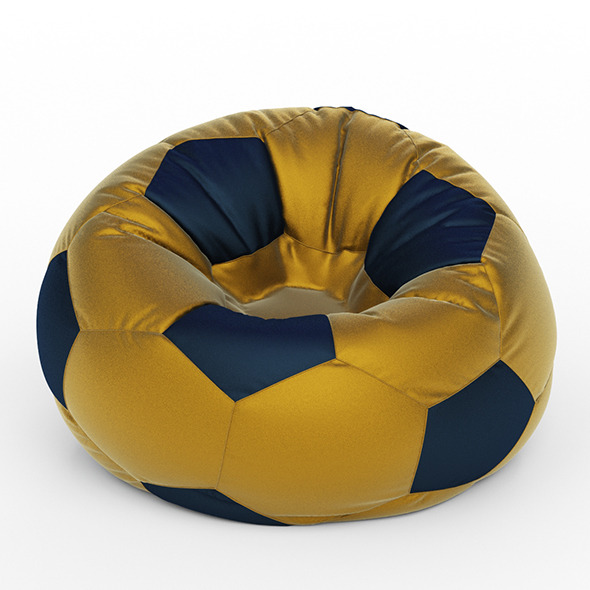 Armchair football - 3DOcean Item for Sale
