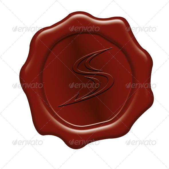 GraphicRiver Wax Seal with Symbols 6334047