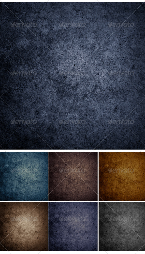 GraphicRiver Set Concrete Wall Background or Texture 6352331