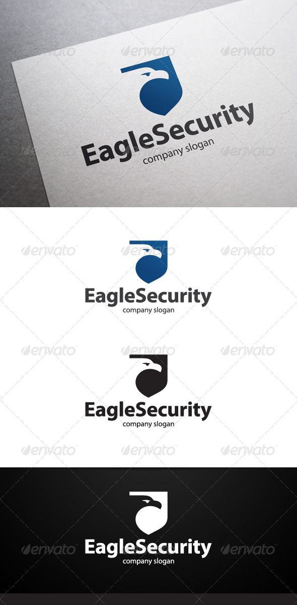 GraphicRiver Eagle Security Logo 6352383