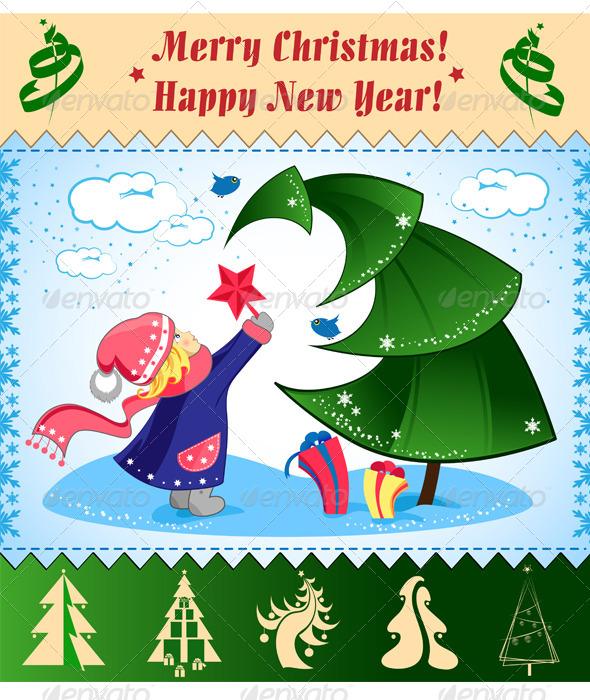 GraphicRiver Christmas Illustration 6352626
