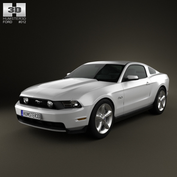 Ford Mustang GT 2012 - 3DOcean Item for Sale
