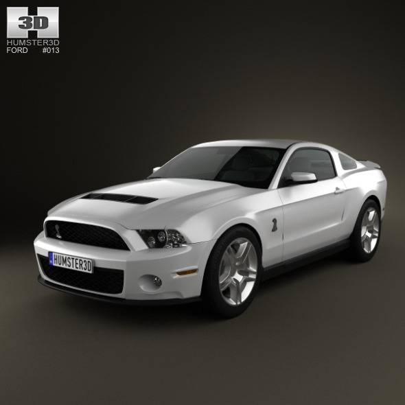 Ford Mustang Shelby GT500 2012 - 3DOcean Item for Sale