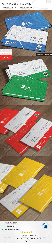 GraphicRiver Creative Business Card v25 6352724