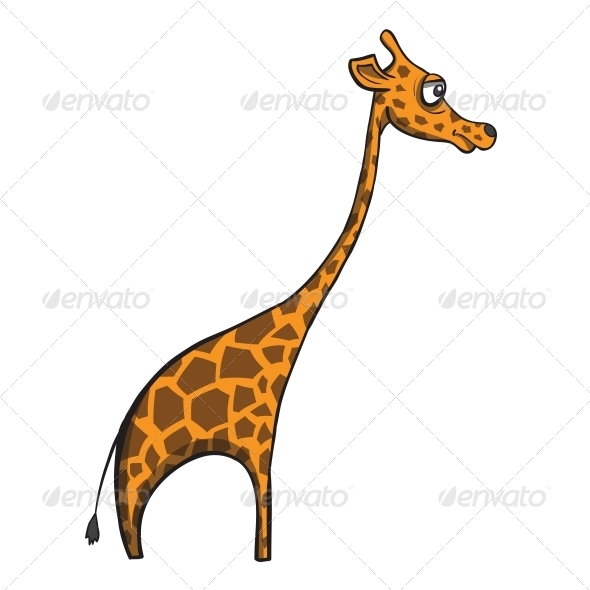 GraphicRiver Cartoon Giraffe 6352745
