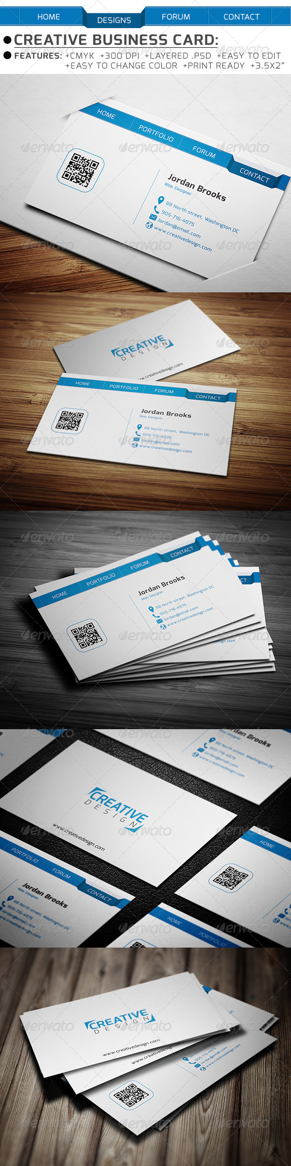 GraphicRiver Creative Business Card 6353117