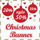 Christmas Banner Bundle - GraphicRiver Item for Sale