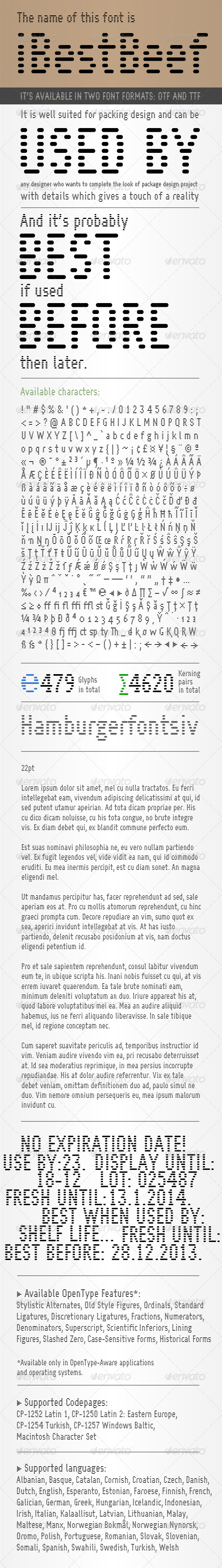 GraphicRiver iBestBeef font 6353325