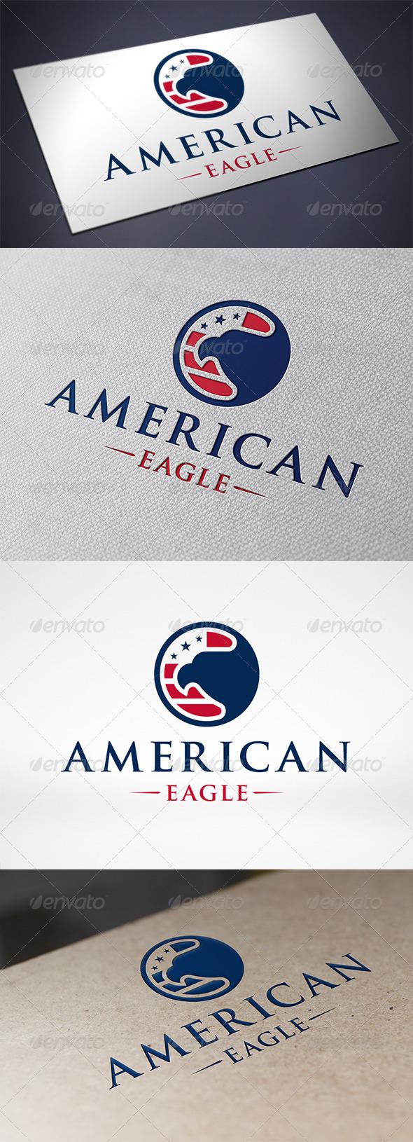 GraphicRiver American Eagle Logo Template 6353332