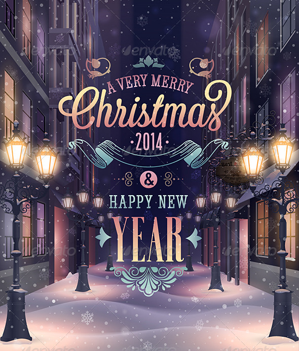 GraphicRiver Christmas Poster 6353957