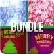Christmas Backgrounds Bundle - GraphicRiver Item for Sale