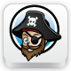 The Pirate Logo - GraphicRiver Item for Sale
