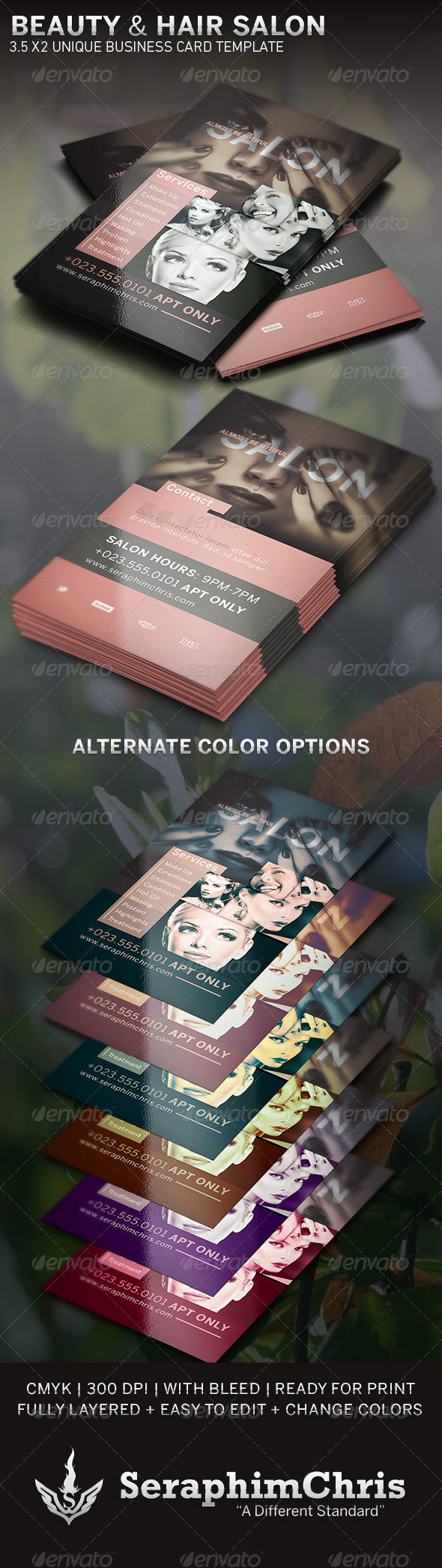 GraphicRiver Beauty and Hair Salon BC Template 6354119