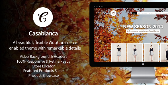 ThemeForest Casablanca Responsive WooCommerce Theme with Video 6238924