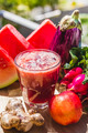 Red fruit and vegetable juice - PhotoDune Item for Sale