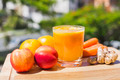 Glass of fresh fruit and vegetable juice - PhotoDune Item for Sale