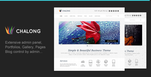 Chalong - Simple and Clean for Business Portfolio