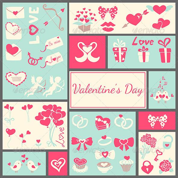 GraphicRiver Valentine s Card 6355811
