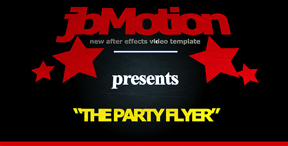 After Effects Project - VideoHive The Party Flyer Invitation 662647
