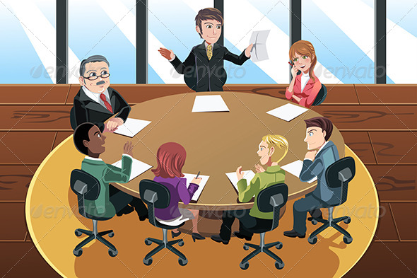GraphicRiver Business Meeting 6356278